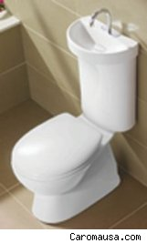 A Perfect Example Of Such An Invention Is The New Combination Sink/toilet  From Australia, The Profile Smart From Caroma.